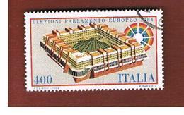 ITALIA REPUBBLICA  - UNIFIC.  1681  -      1984  ELEZIONI EUROPEE             -      USATO - 6. 1946-.. República