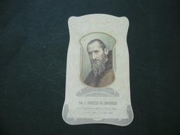 SANTINO HOLY CARD F.FRANCESCO DA CAMPOROSSO LAICO CAPPUCCINO. - Religión & Esoterismo