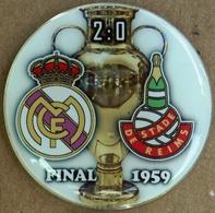 Pin Champions League UEFA Final 1959 Real Madrid Vs Stad De Reims - Calcio