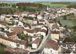 CPSM 88 (Vosges) DARNEY / EN AVION AU DESSUS DE ... / VUE GENERALE - Darney