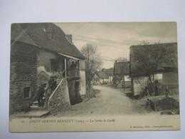 COUPE GORDON BENETT 1905 -   LA SORTIE DE LASTIC       TRES ANIME      TTB - Altri Comuni