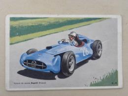CPA Publicité (no Chromo) Cholocat TOBLER - Voiture De Course Bugatti (France) - Motorsport