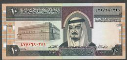 SAUDI ARABIA P23d 10 RIYALS 1983 Signature 8 UNC. - Saudi Arabia