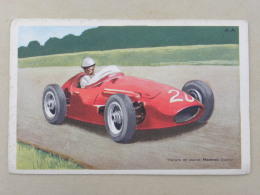 CPA Publicité (no Chromo) Cholocat TOBLER - Voiture De Course Maserati (Italie) - Motorsport
