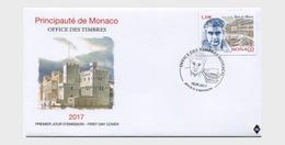 Monaco 2017 First Day Cover - Armand Lunel - Monaco