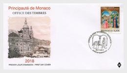 Monaco 2017 First Day Cover - Monaco - Vatican (Assocation) FDC - Monaco