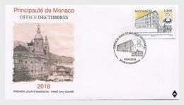 Monaco 2018 First Day Cover - 150th Ann Of Monaco's Ecole Des Freres School - Monaco