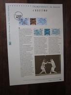 Premier Jour -collection Historique Du Timbre-poste Français - Championnats Du Monde D'escrime  (2010) - Documents De La Poste