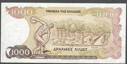 GREECE P202  100  DRACHMAES 1987   F-VF - Greece