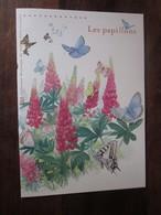 Premier Jour -collection Historique Du Timbre-poste Français - Les Papillons  (2010) - Documents De La Poste