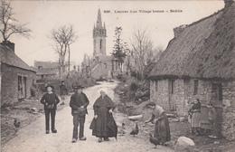 CPA 29 -  BODILIS - L'entree D'un Village Breton - Altri Comuni