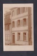 Carte Photo Maison Hirtzel ( Fabrique De Lits D' Enfants à Bouxwiller ) - Bouxwiller
