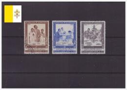Vaticano 1965 - ° - Santificazione Dei Martiri Dell'Uganda - Sas.405-407 (vat316) - Usati