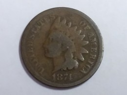 1874 Indian Head Cent - Federal Issues