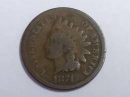 1874 Indian Head Cent - Émissions Fédérales