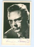 Y8863/ Dirigent Heinrich Hollreiser Autogramm  Ca.1955  Foto Fayer, Wien  - Autographs