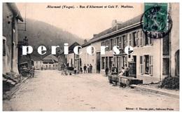 88  Allarmont  Café Des Patriotes  P. Mathieu  Rue D'Allarmont - Autres Communes