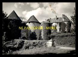 27 - HARCOURT - LE CHATEAU - TIRAGE PHOTO ORIGINAL, BON A TIRER DE LA CP SEMI-MODERNE FORMAT 10x15 - Harcourt