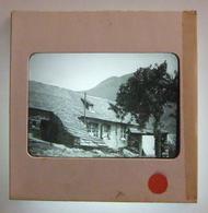Plaque De Verre Positive Sous Carton - Hautes-Pyrénées - Secteur D'Argelès-Gazost - Maison Du Maire - Glass Slides