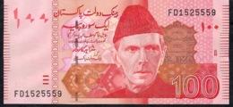 PAKISTAN P48g  100 RUPEES   2011 Prefix FD   UNC. - Pakistan
