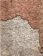UKRAINA- NON VIAGGIATA -ANNI 1913 - Carte Geografiche