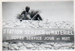 47F  Algerie Biskra Fort St Germain Station Service Du Materiel - Biskra