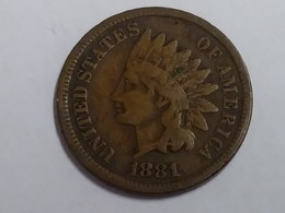1881 Indian Head Cent - Federal Issues