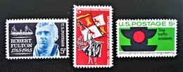 EMISSIONS 1965 - NEUFS ** - YT 787/89 - MI 886/88 - United States