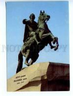 216842 RUSSIA LENINGRAD Peter I Monument Postal Stationery - Rusland