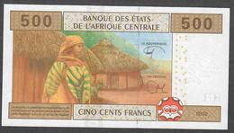 C.A.S. LETTER U CAMEROUN P206Ue ? 500 FRANCS 2002 New Signature 2018 ! - Cameroun