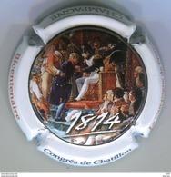 CAPSULE DE MUSELET CHAMPAGNE GENERIQUE 1814 NAPOLEON CONGRES DE CHATILLON BICENTENAIRE - Champagne