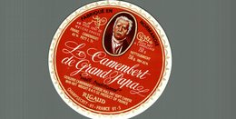 ETIQUETTE CAMEMBERT DE GRAND PAPA CHAMPSECRET - Cheese