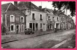 Nogent Le Bernard - Le Centre - Graineterie - Hôtel St Jacques - Boulangerie BARBE - Vieille Camionnette - Animée - CIM - Other Municipalities