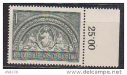 """Österreich 1952: """"Österr.Katholikentag""""  Postfrisch Luxus (siehe Foto/ Scan) - 1945-.... 2nd Republic"""