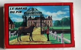 54 Carte à Jouer Vintage Le Haras Du Pin Cavalier Cheval Neuf Sous Blister Belote Poker Manille - 54 Cartes