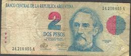 ARGENTINA P340a 2 PESOS 1992   FINE - Argentina