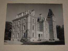 TB Photo Ancienne 1950s/60s Signée Charnet 03 ALLIER Chateau De Sarre (ancienne Colonie De Vacances) Argentique 24x18 - Places