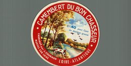 ETIQUETTE CAMEMBERT DU BON CHASSEUR MAUVES SUR LOIRE - Cheese