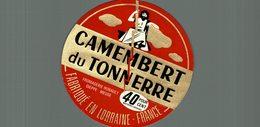 ETIQUETTE  CAMEMBERT DU TONNERRE - Cheese
