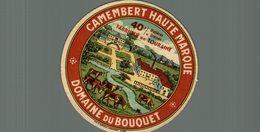 ETIQUETTE  CAMEMBERT DOMAINE DU BOUQUET - Cheese