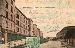 CPA - SARREBOURG (57) - Aspect De La Ulanenkaserne ( De La Caserne Des Uhlans) En 1905 - Sarrebourg