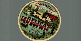ETIQUETTE CAMEMBERT LE DELICAT - Cheese