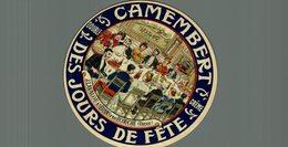 ETIQUETTE CAMEMBERT DES JOURS DE FETE ECOUCHE - Cheese