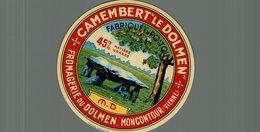 ETIQUETTE CAMEMBERT LE DOLMEN MONCONTOUR - Cheese