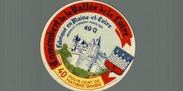 ETIQUETTE CAMEMBERT DE LA VALLEE DE LA LOIRE - Cheese