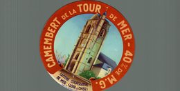 ETIQUETTE CAMEMBERT DE LA TOUR DE MER - Cheese