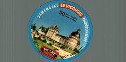 ETIQUETTE CAMEMBERT LE VICQUOIS VICQ SUR NAHON - Cheese