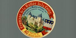 ETIQUETTE FROMAGE DE LA VALLEE DE LA LOIRE - Cheese