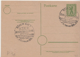 Germany Cancelled Postal Stationery Card ( Ganzsache) - Soviet Zone