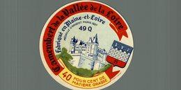 ETIQUETTE FROMAGE DE LA VALLEE DE LA LOIRE 49 Q - Cheese
